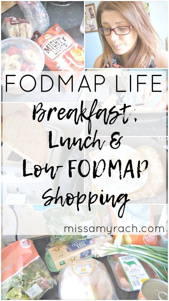Breakfast, Lunch & Low FODMAP shopping Featured Image