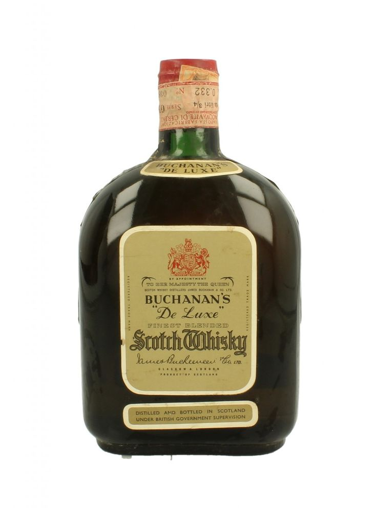 BUCHANAN'S SPRING CAP BLENDED 75 CL ...