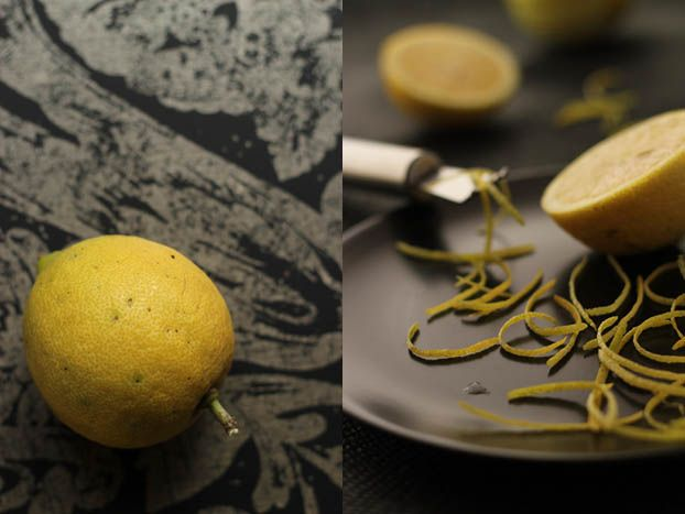 Lemon shred marmalade in the making