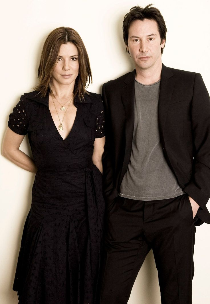Sandra Bullock and Keanu Reeves                                                                                                                                                      More