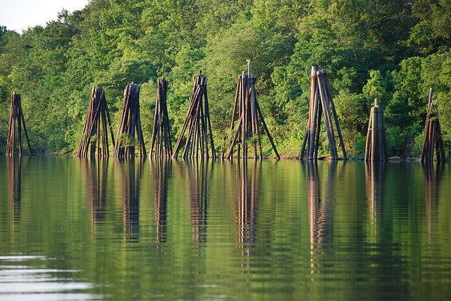 Ouachita River, Monroe Louisiana -Spent many, many hours on The Ouachita! Water Ski Heaven!