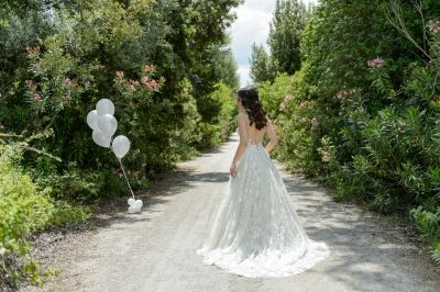 Wedding Gown by Costantino. Forest After Wedding Session by Phosart Photography & Cinematography