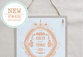 New Free Formal Crest Download From Maemae Paperie.  Check it out @Katie Anderson