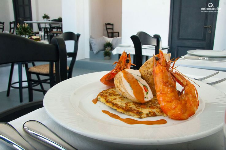Refined tastes and exceptional food styling! Try out seafood and other treats at our Restaurant!
