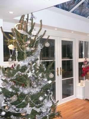 Christmas Tree in a Festive Orangery #Christmashome