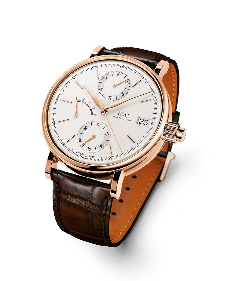 The IWC Portofino Hand Wound Monopusher. Add it to your holiday wish list!