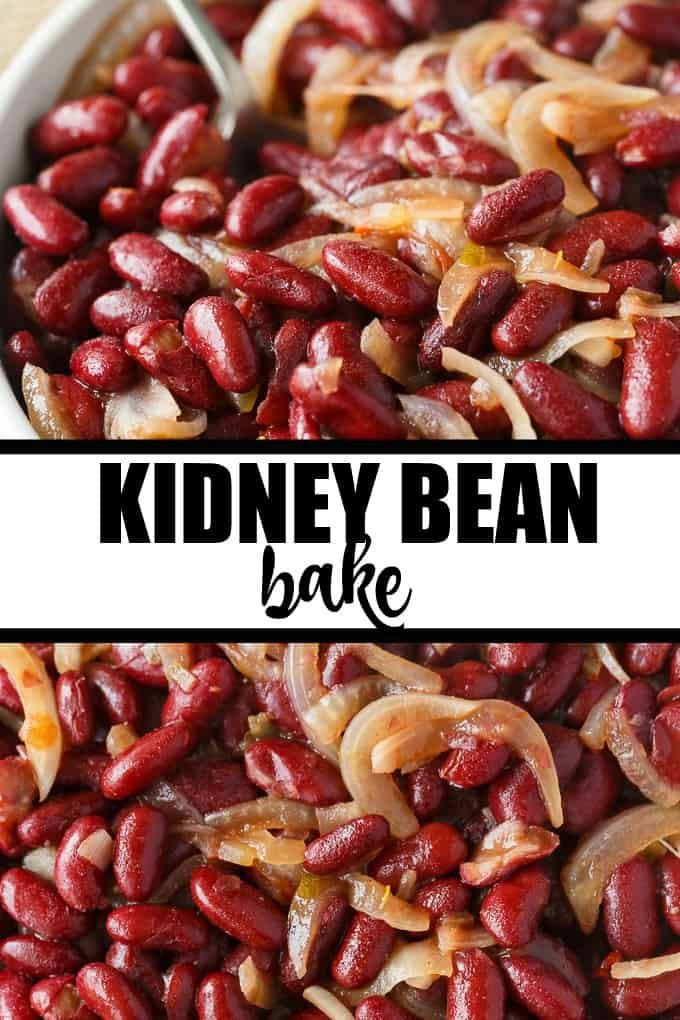 Kidney Bean Bake Recipe Recipes With Kidney Beans Bean Recipes Kidney Beans
