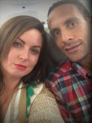 Rio Ferdinand's teammates stay by his side at wife's funeral