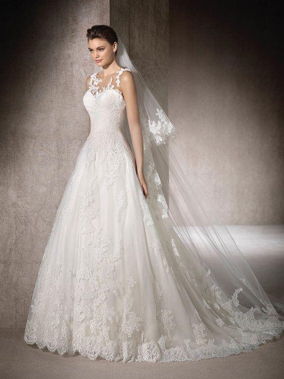 vestidos de novia st. patrick que te enamorarán por completo. ¿cuál