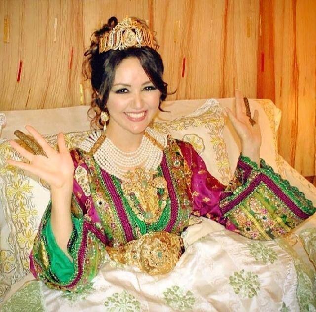 Caftan marocain de mariage