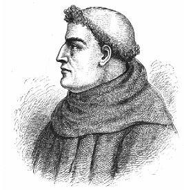 Ро́джер Бэкон (англ.Roger Bacon;ок.1214, Илчестер(англ.)русск.,графство Сомерсет, Англия-1292,Оксфорд,Англия),изв.также как Удивительный доктор(лат.Doctor Mirabilis)-англ.философ и естествоиспытатель,монах-францисканец (с 1257);профессор богословия в Оксфорде.Занимался математикой, химией и физикой;в оптике разработал новые теории об увеличит.стеклах, преломлении лучей,перспективе,величине видимых предметов и др.первым выступил против схоластики.