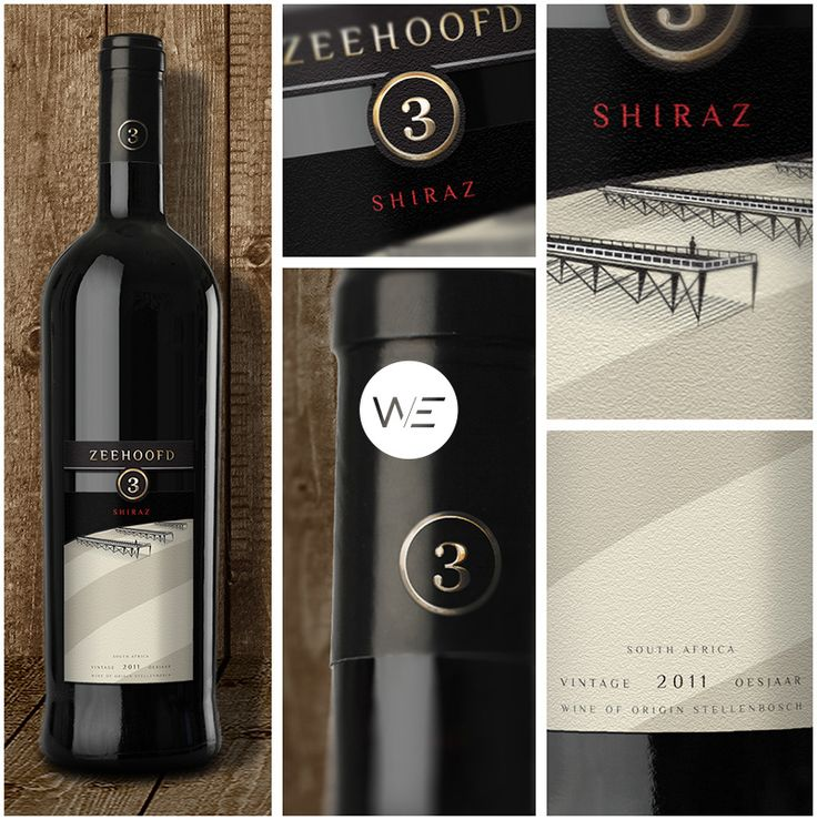 @we.lifeasweknowit designed a series of premium export wine labels