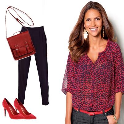 Look ideal para mujeres trabajadoras con jornadas laborales sin fin. Para estar cómoda y elegante