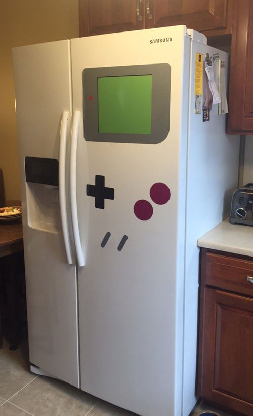 Nintendo Game Boy Refrigerator Magnets Geekxgirls Articlephp