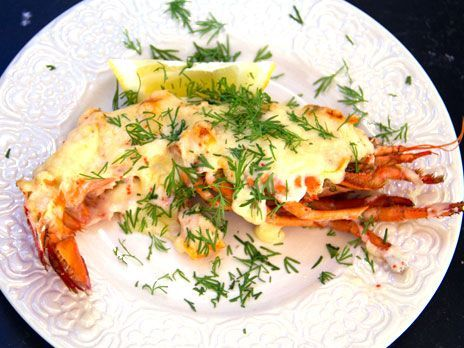Gratinerad hummer | Recept från Köket.se