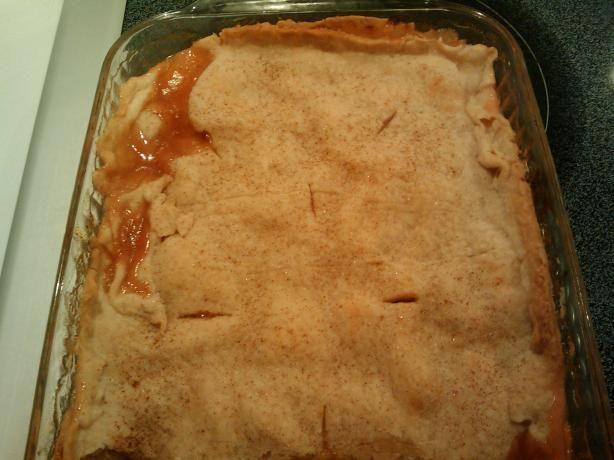 Soul Food Recipes | Grandpa Roy's Fresh Peach Cobbler Recipe - Soul.Food.com - 295591