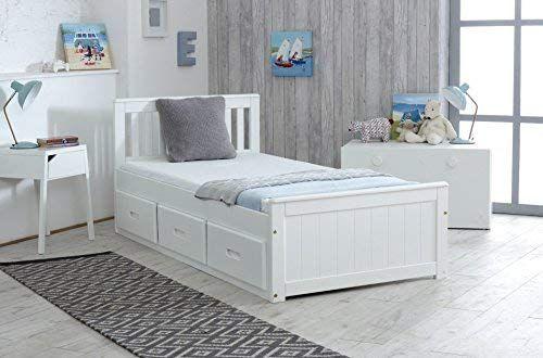Cloudseller Children S Kids 3ft Single Captain Cabin Storage Solid Pine Wooden Bed Bedframe Fin Single Beds With Storage Bed Frame With Storage Bed Storage
