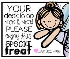 FREE DESK FAIRY {TAGS}