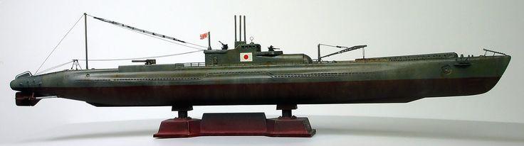 Gemi Modelleri: Pitroad 1/700 IJN I-9