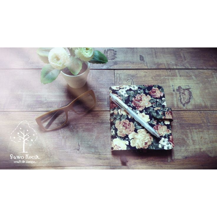 Recycle milkcarton NoteBookCover by SawoKecik