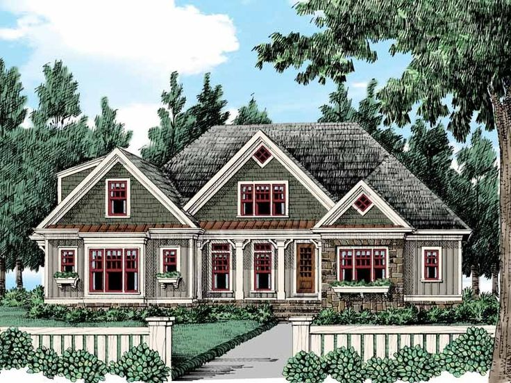 cottage house plan with 2469 square feet and 4 bedrooms from dream home source house