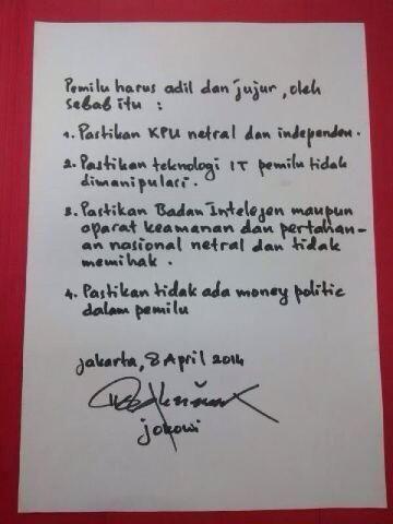 #JKW4P RT @tmasduki: Himbauan Pemilu Jurdil.