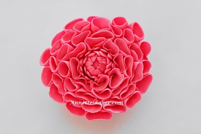 Annettes kager: How to - Dahlia blomst