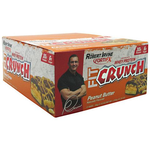 Chef Robert Irvine Fortifx Fit Crunch Bar ( free shirt ). From $7.64