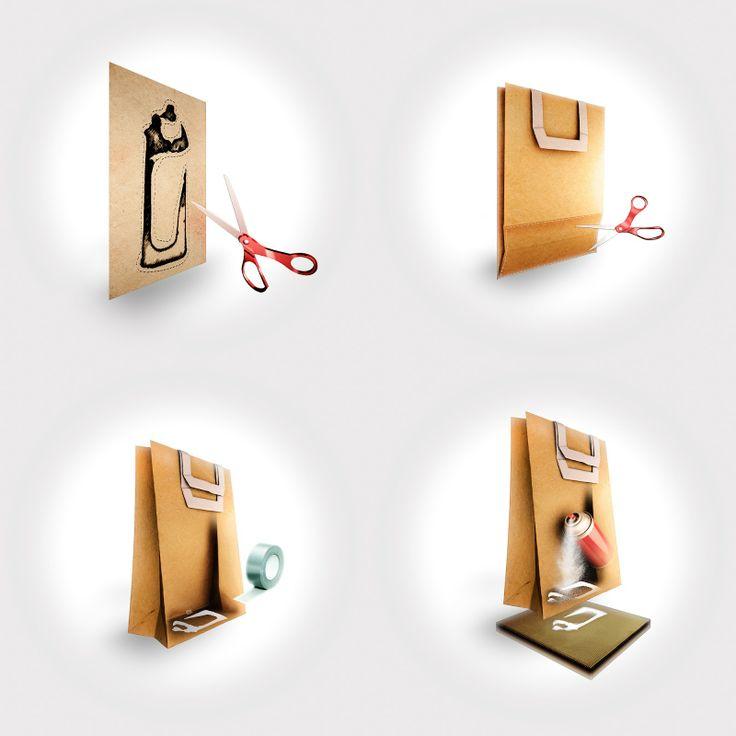 personal project GRAFFITI PAPER BAG