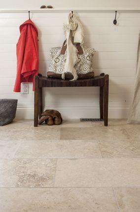 - travertine rectangular flooring- new flooring option for downstairs??