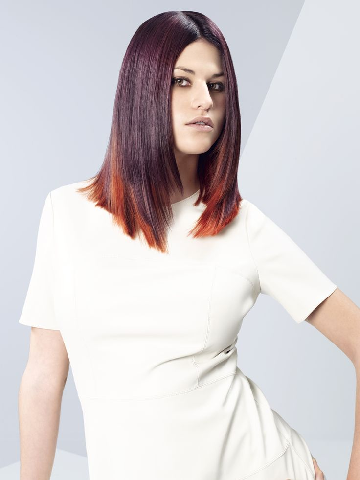 Erayba Hair Style Collection: COLOR FLOW. Smooth Flame. Dare to be a trendsetter.