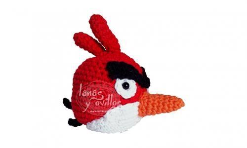 Angry Birds Amigurumi Red Free Pattern | Haken amigurumi | Pinterest