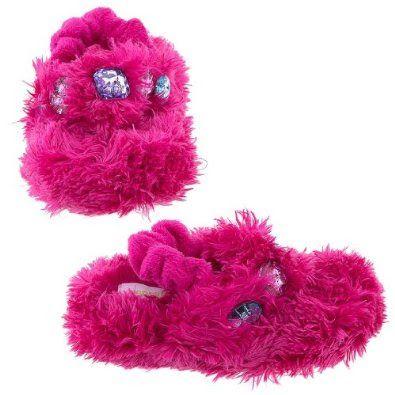 Pusat Shop Online Sepatu - Capelli New York Teddy Fur Thong Dengan backstrap Gadis Balita Sandal Indoor Ferry Fuchsia Kecil | Pusat Sepatu Bayi Terbesar dan Terlengkap Se indonesia