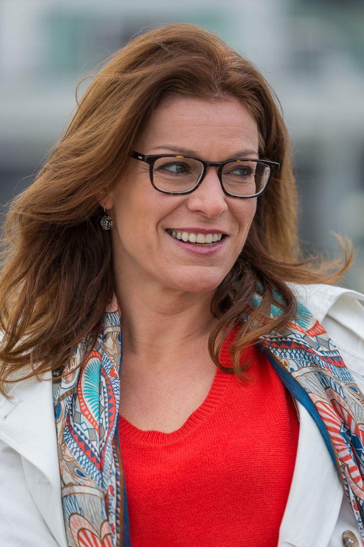 Belgian Weather Lady Jill Peeters Has A Clear View Reading