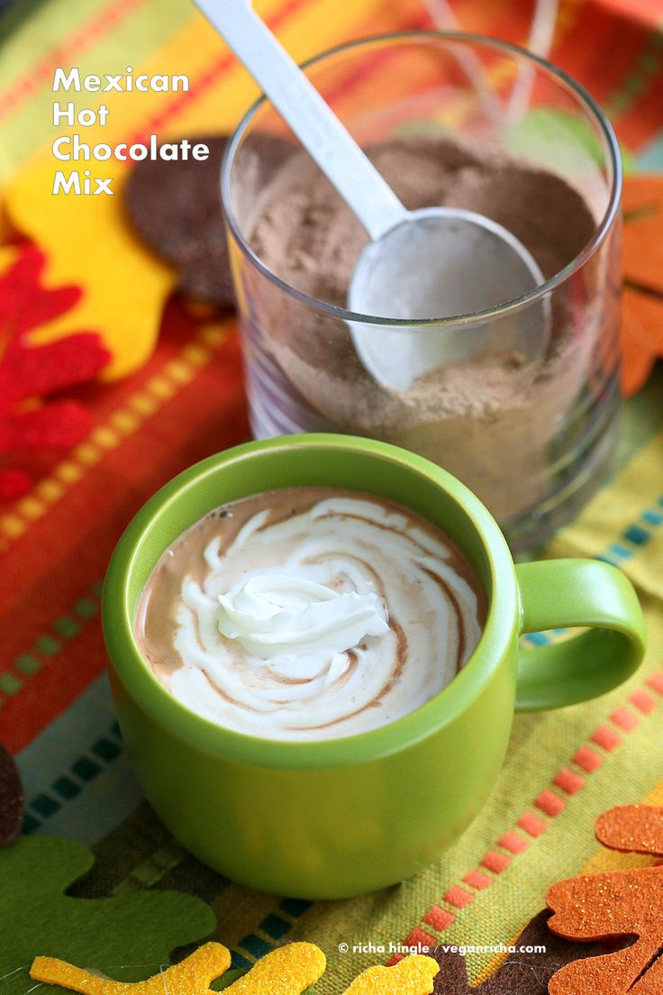 Mexican Hot Chocolate Mix | Vegan Richa