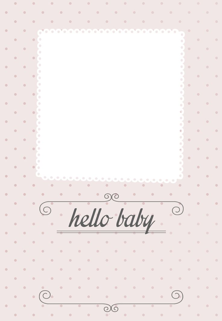 15 Mustsee Birth Announcement Template Pins – Free Printable Birth Announcement Templates