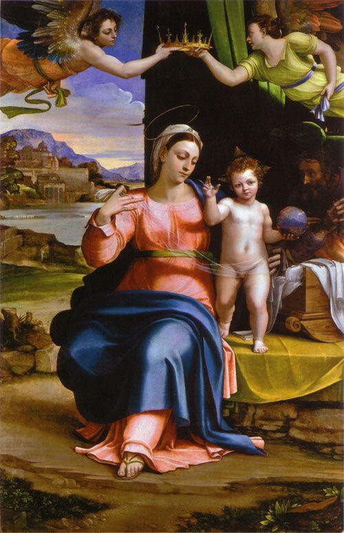 La Sainte Famille, par Sebastiano del Piombo