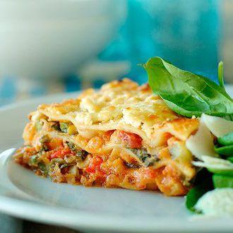 Low Fat Vegetarian Lasagne 116