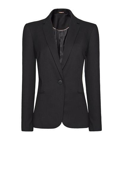 MANGO - Pinstripes blazer