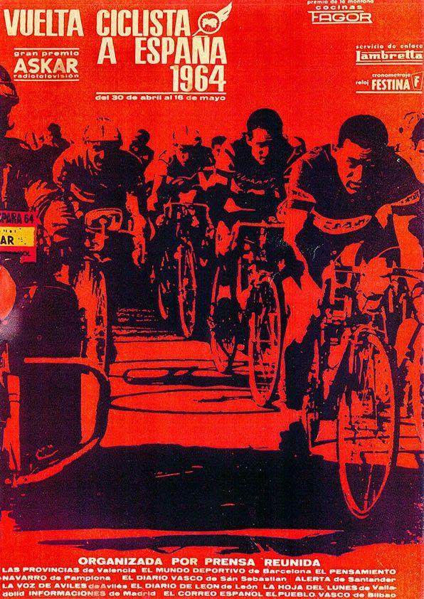 a vueltas con la vuelta: Libros de Ruta Vuelta Ciclista a España 1960 - 1969
