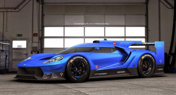 Ford GT Le Mans 2017 » Los Mejores Autos                                                                                                                                                                                 Más