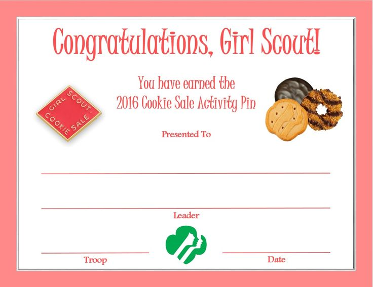 58 best Daisy Girl Scouts images on Pinterest Girl scout crafts - congratulations certificate