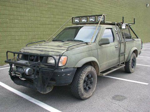 doomsday truck | Thread: From CL: 1998 Nissan Frontier Pickup Doomsday Survival Truck