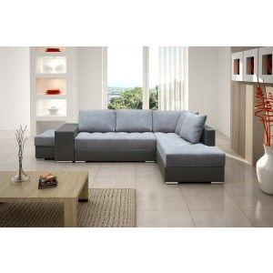 Corner Sofa Bed SALWADOR #cornersofabed #fabricsofabed #salwador