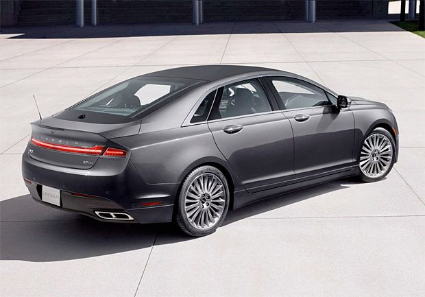 The 2013 Lincoln MKZ with a great hybrid system option. Sexy