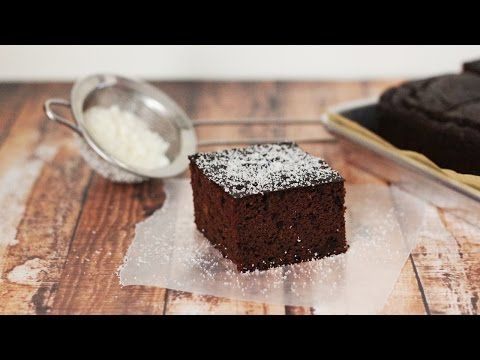 Paleo Chocolate Cake Recipe with Coconut Flour