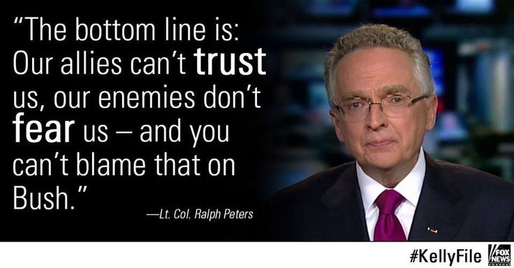 Peters: 'Obama Expected His Charm Would Work on Islamic Terrorists' Watch Megyn Kelly's full interview with Peters: SO WHAT IS THE PROBLEM???? WHAT HAS CHANGED TO MAKE THE USA IMPOTENT???? ONE WORD: OBAMA.