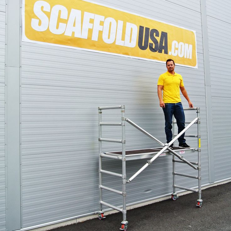 Buy Rolling Aluminium Scaffolding & Mobile Scaffolds Towers for Sale