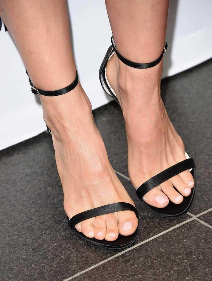 Actress Natalie Portman, shoe detail, attends the 4th annual festival kick-off fundraising soiree during the 2015 Toronto International Film Festival at TIFF Bell Lightbox on September 9, 2015 in Toronto, Canada.