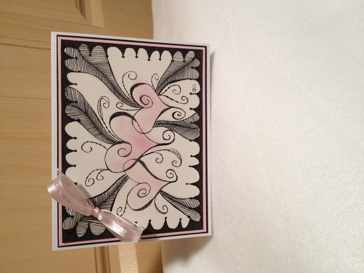 116 best zentangle greetings cards images on pinterest doodles